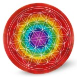 Chakra flower of life WH 10cm