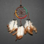 Dream Catcher colour Ø 6cm