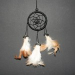 Dream Catcher zwart Ø 6cm