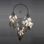 Dream Catcher zwart Ø 27cm