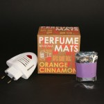 Orange Cinnamon Aroma, 10x matjes, 1x Electric Diffuser